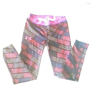 Under Armour girls small size 8 leggings